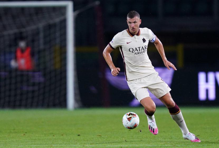 Europa League, Roma in semifinale: Dzeko gol e pari, ora il Man United