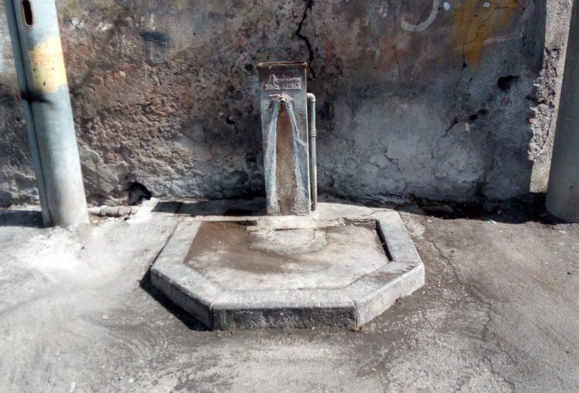 """La Dusty precisa: """"le fontane di San G. Galermo non versano in stato di degrado"""""""