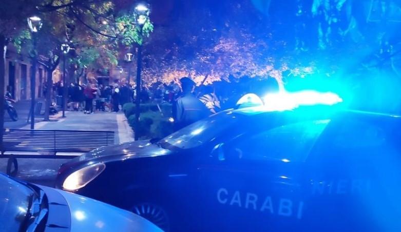 Catania, disciolto un assembramento di 200 giovani in piazza Sciuti