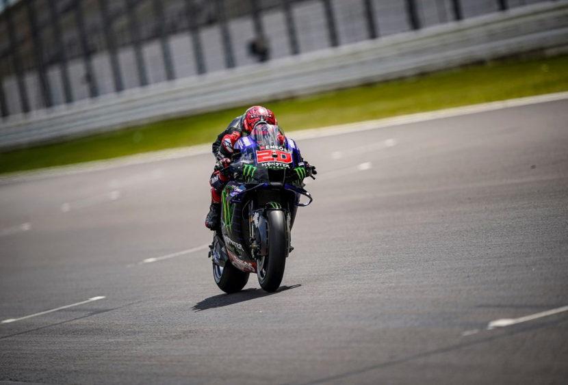 MotoGP, Portimão: Quartararo domina, a podio Bagnaia e Mir