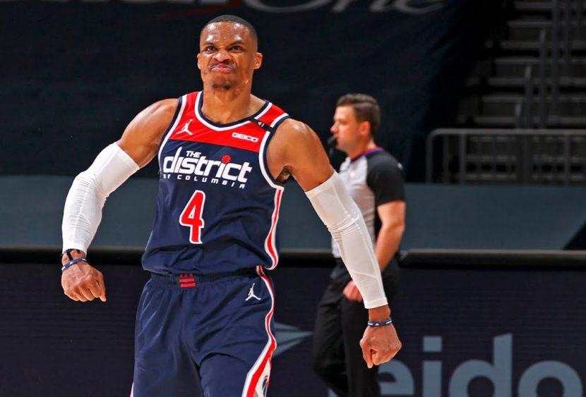 NBA: record storico per Westbrook, il re delle triple doppie