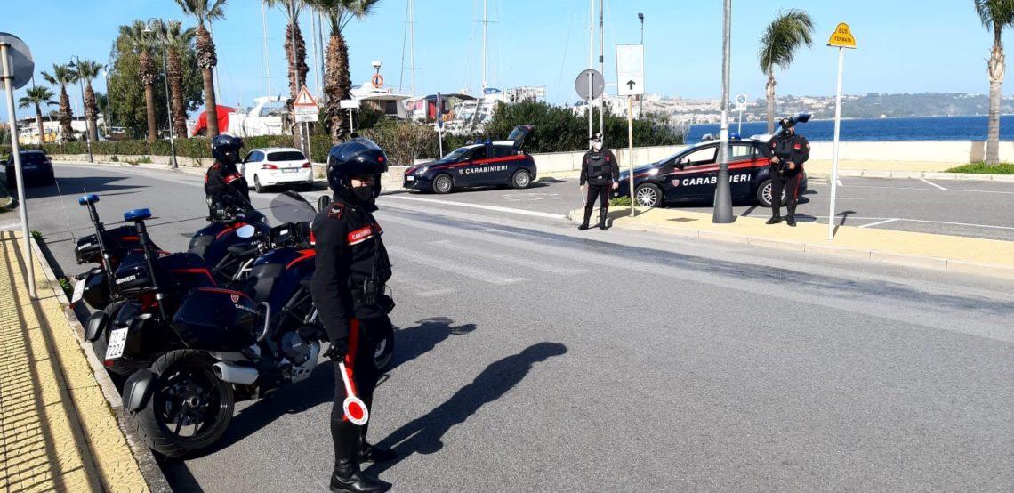 Bilancio dei controlli del weekend da parte dei Carabinieri di Milazzo (ME)