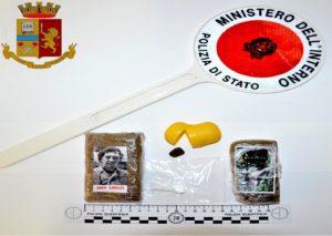 Trapani, arrestato un trentenne che trasportava panetti di hashish
