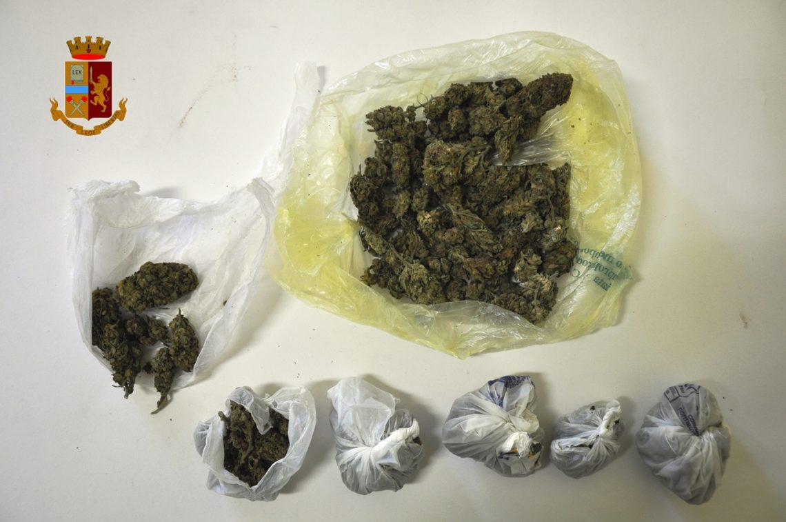 La Polizia denuncia un giovane adranita per detenzione e spaccio di stupefacenti
