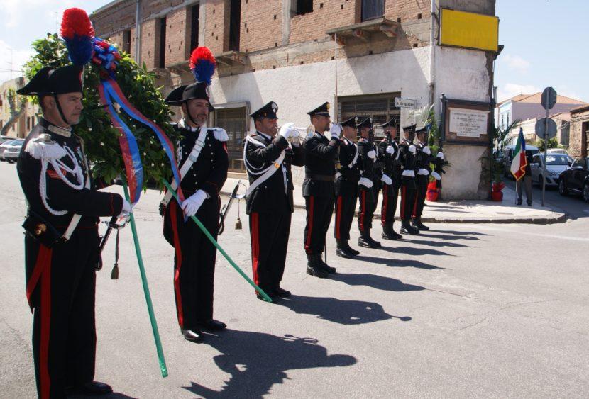 Anniversario della morte dei Carabinieri Antonino Pirrone e Antonio Arnoldi, uccisi a Milazzo