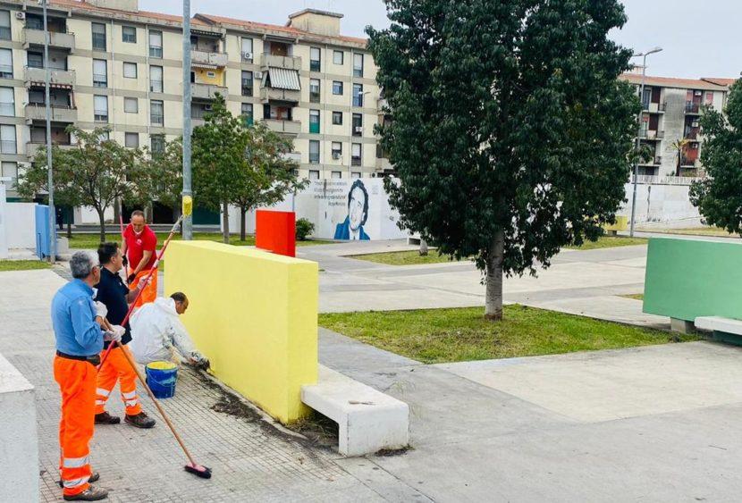 Erio Buceti sulla riqualificazione della piazza Beppe Montana a Catania
