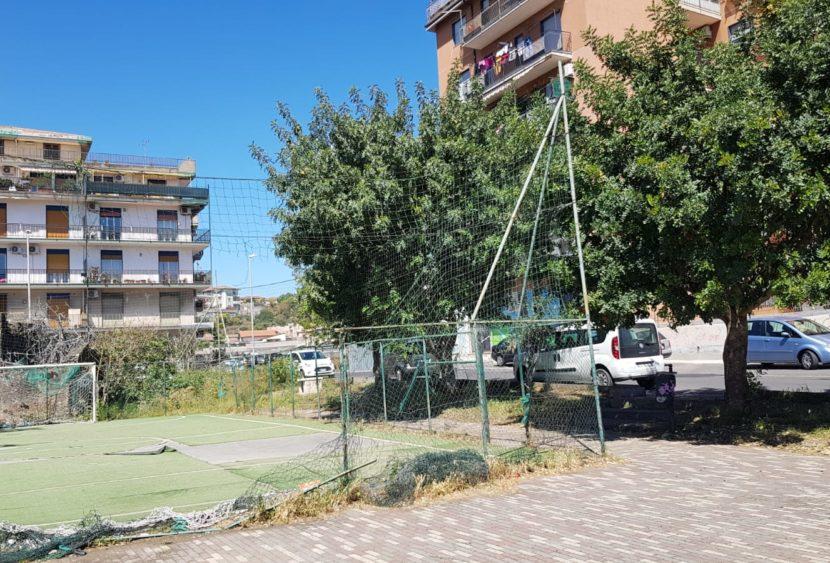 Catania, il parco Horacio Majorana vandalizzato, la segnalazione del consigliere Zingale