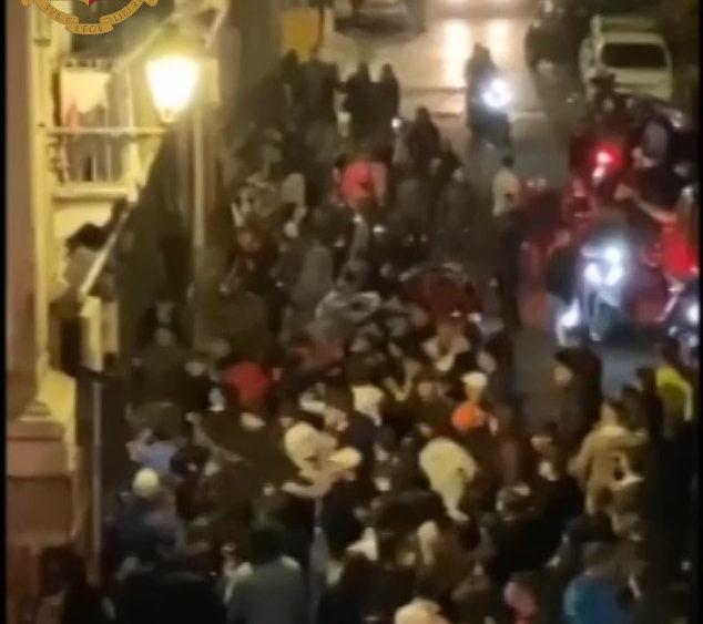 Rissa in centro a Catania: otto denunciati e sette divieti d'accesso ai locali pubblici