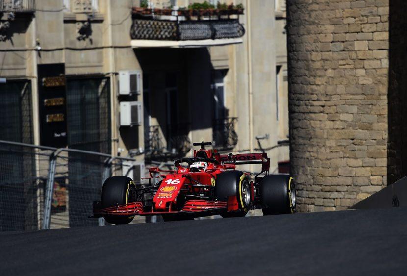 F1, Leclerc più forte delle bandiere rosse: è pole per il monegasco a Baku