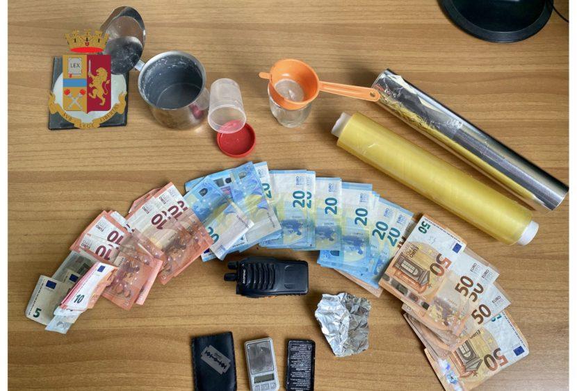 Messina. Continuano i servizi anti-droga in città: pusher arrestato