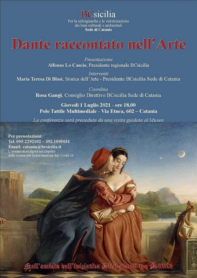 Dante raccontato nell'Arte: per celebrare i 700anni dalla morte del Poeta