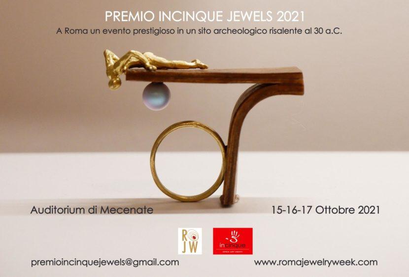 Roma, Premo Incinque Jewels alla Roma Jewelry Week 2021