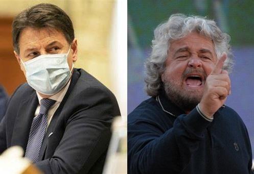 """Conte vs Grillo: """"C'eravamo tanto amati (o forse no?)"""""""