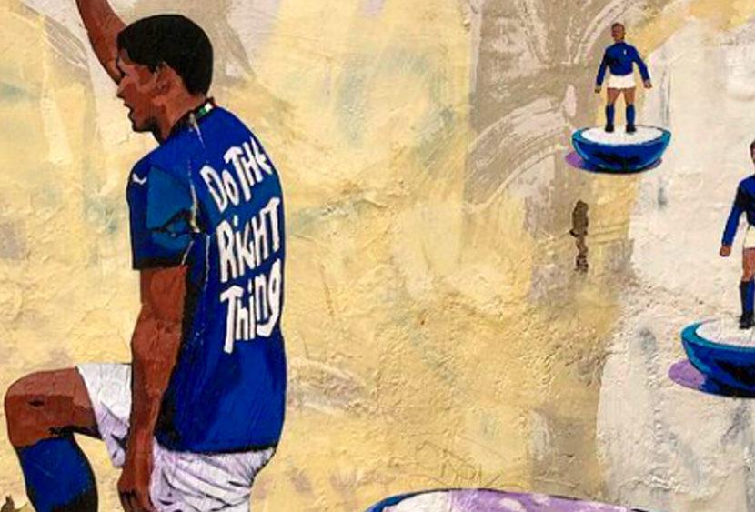Euro 2020: l'Italia aderisce al Black Lives Matter a partite alterne