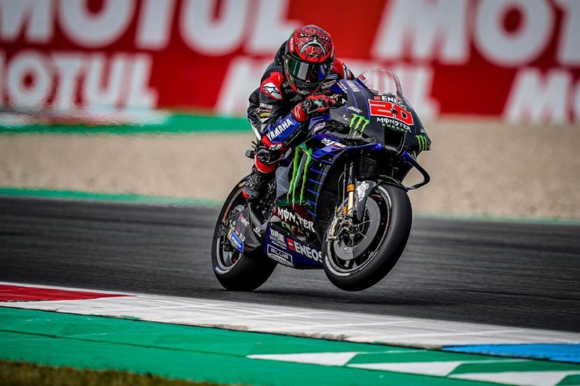 MotoGP, Assen: Quartararo vince in solitaria, riscatto Viñales