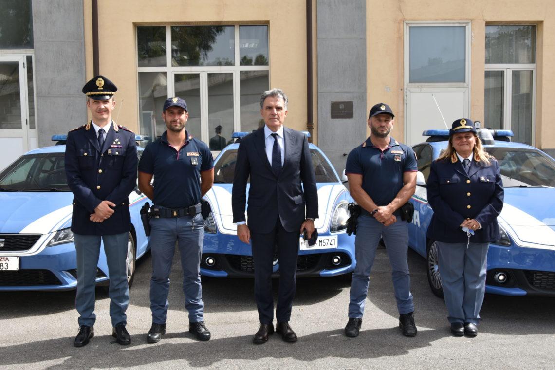 Messina. Intervento di soccorso pubblico della Squadra Volanti.