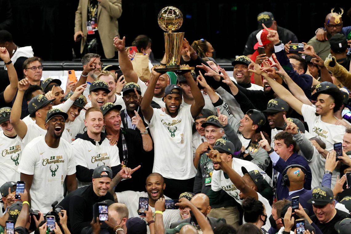 NBA: Bucks campioni 50 anni dopo, Antetokounmpo leggendario