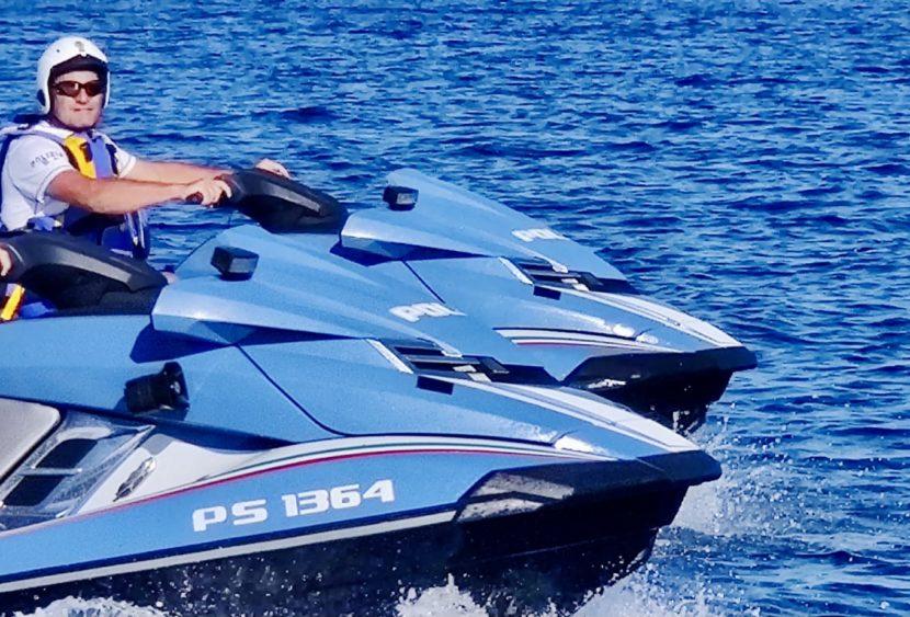 Estate in sicurezza: quattro persone sanzionate alla guida di moto d'acqua