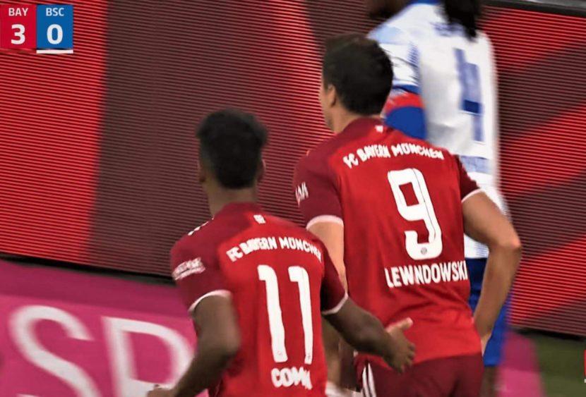 Bundesliga: Lewandowski nella storia, il solito Haaland salva il Dortmund