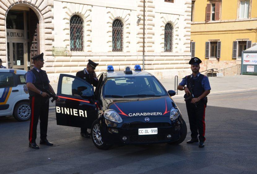 Perugia: i Carabinieri intensificano i controlli