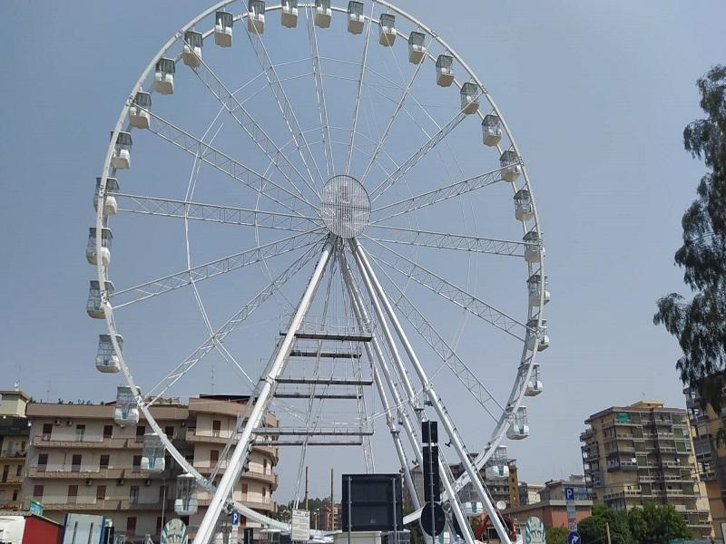 Ruota panoramica a Catania: tutto quello che c'e da sapere sulla nuova attrazione