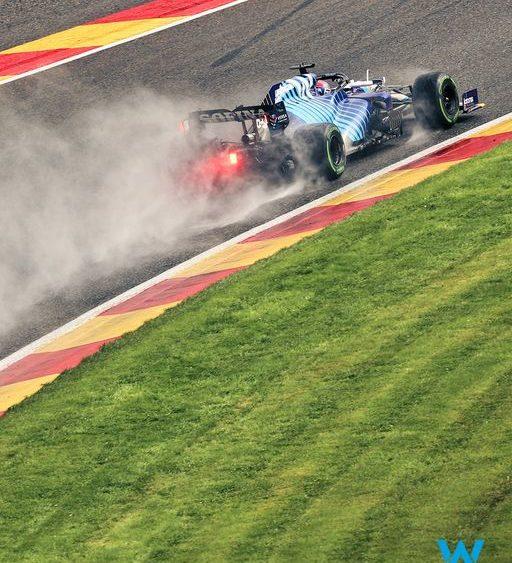 F1, Russell SPA-ziale in Belgio: è secondo! Pole a Max Verstappen