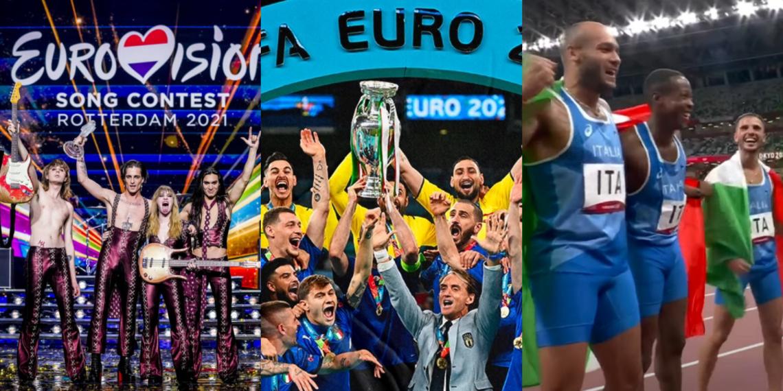 Un'estate azzurra: i successi dell'Italia nello sport (e non solo)