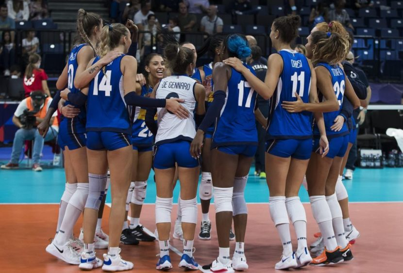 Pallavolo italiana femminile campionessa d'Europa, battuta la Serbia