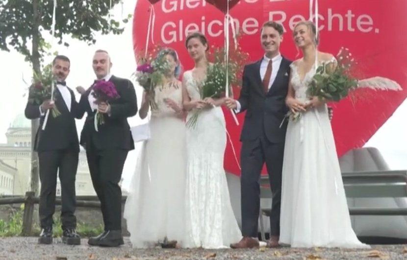 Svizzera, referendum: sì al matrimonio egualitario e ai diritti parentali