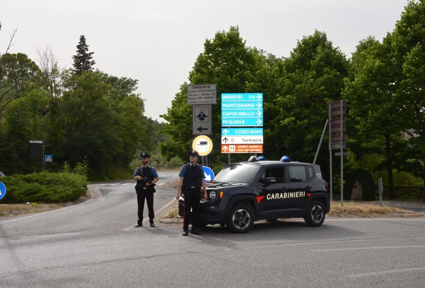 Perugia: arrestato dai Carabinieri