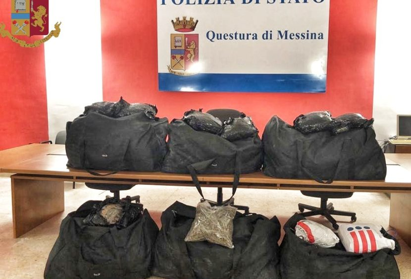 Messina. La Polizia di Stato arresta trafficanti di droga in flagranza di reato
