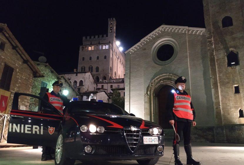 Controlli anti crimine della Compagnia Carabinieri di Gubbio