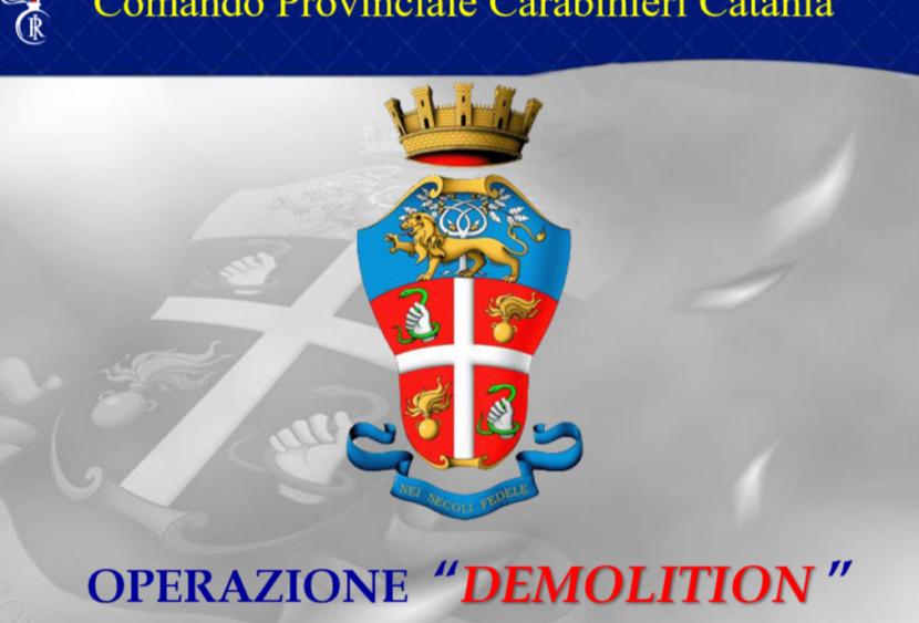 """Catania, 7 arresti. Operazione antidroga """"Demolition"""""""