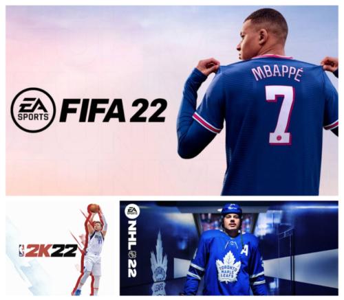 FIFA 22, NBA 2K22, NHL 22: binomio tra talento e marketing