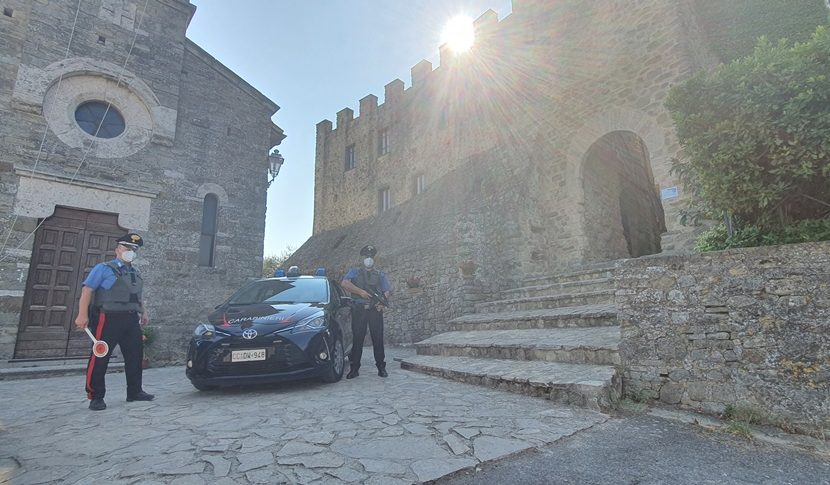Todi: denunce per omicidio stradale e per possesso illecito di armi