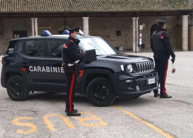 Intensificati i controlli antidroga da parte dei carabinieri di Gubbio