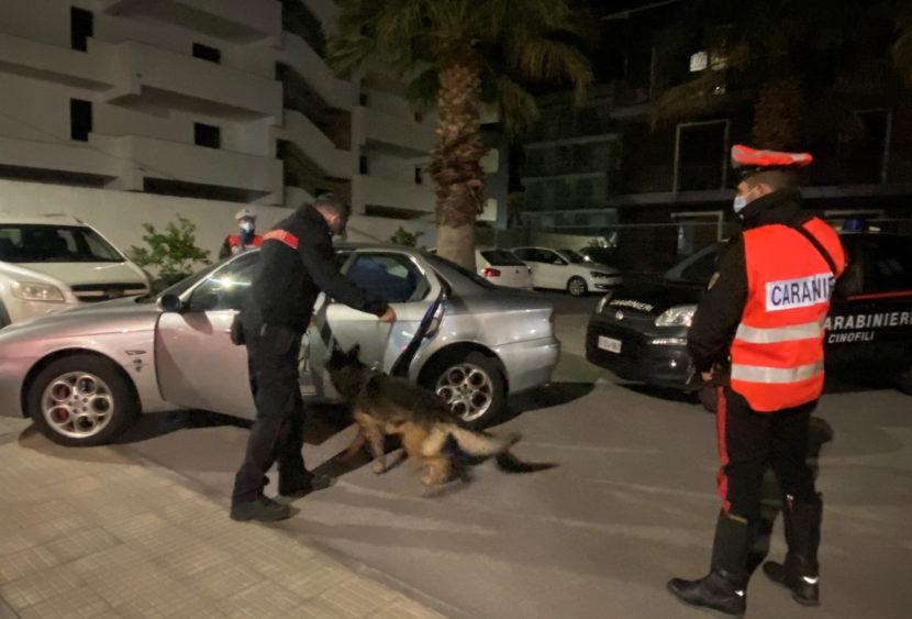 Barcellona P.G: controlli dei Carabinieri nei luoghi della movida, un arresto.