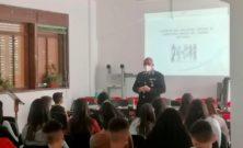 Capizzi (ME): Incontro con gli alunni della scuola Luigi Sanzo nell'ambito del progetto di cultura della legalità