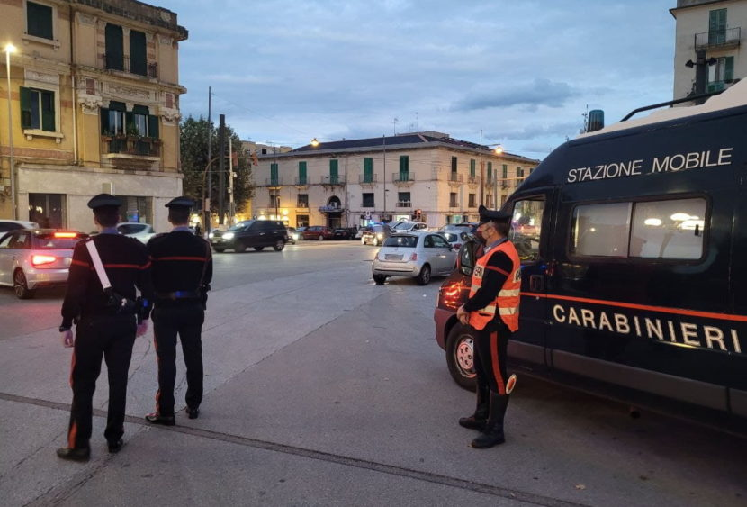 Messina: controlli dei Carabinieri nel week-end, tre arresti, due denunce