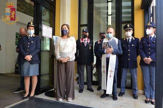 La Questura di Ragusa celebra il secondo anniversario della morte degli agenti Matteo Demenego e Pierluigi Rotta
