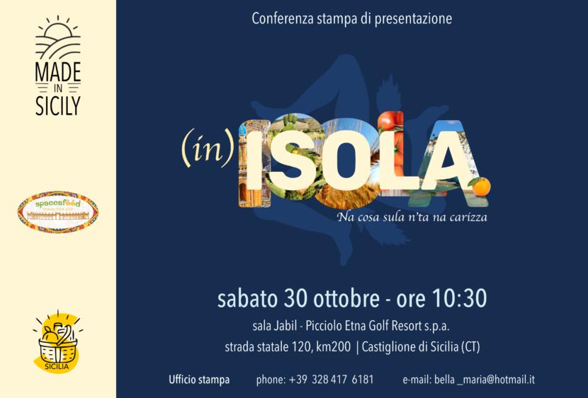 Castiglione di Sicilia (CT), sabato 30 ottobre al Picciolo Etna Golf Resort & Spa la presentazione del progetto (ìn)Isola.
