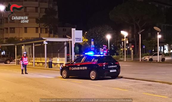 Carabinieri: attività di controllo della circolazione stradale