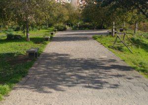 Nuovo impianto nel parco degli Ulivi nel IV municipio di Catania