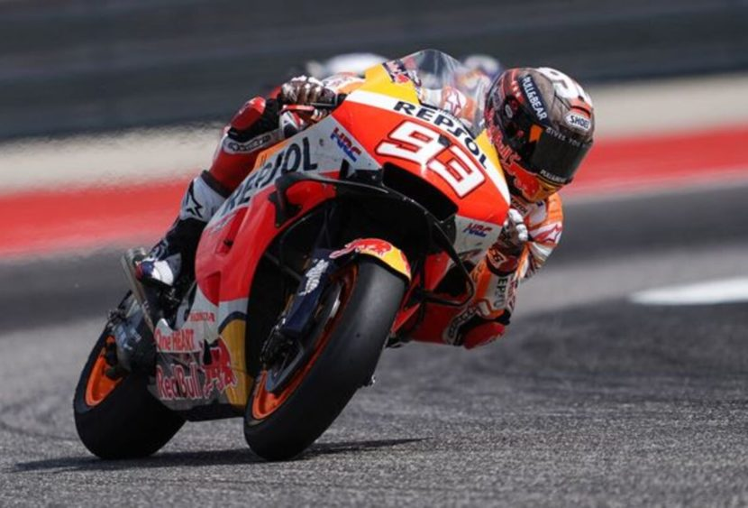 MotoGP, Austin: Márquez è il mattatore del Texas, caos in Moto3