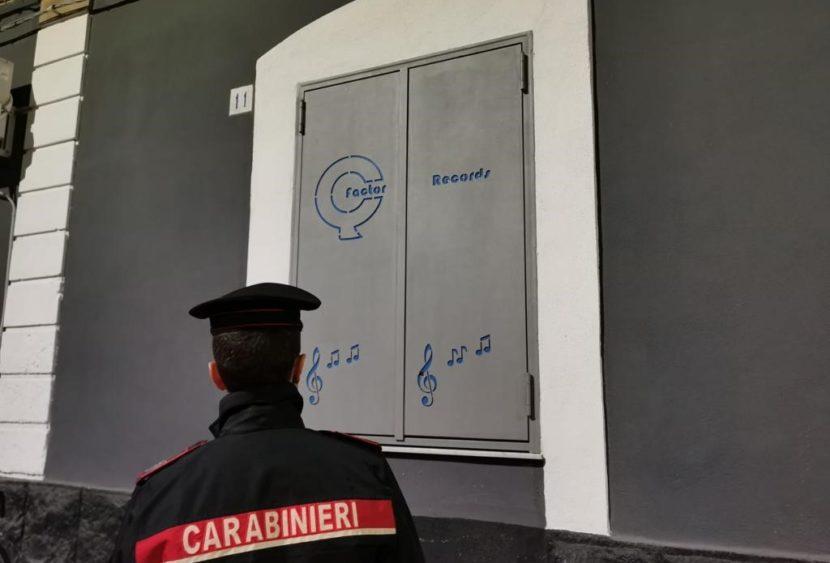 """Sequestrata la """"Q Factor records"""". 15 arrestati che agivano per conto della famiglia Santapaola"""