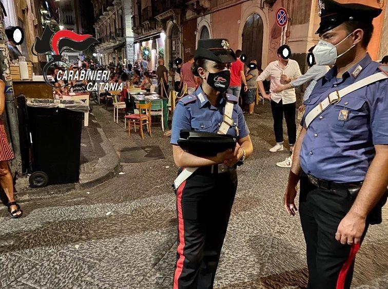 Catania. Controlli nel centro storico: verificati i green pass